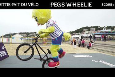 Les aventures d'Ettie : Ettie fait du vélo
