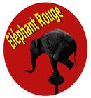 Elephant rouge