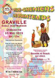 [à valider]Vide-greniers couvert école Jean Maridor Graville
