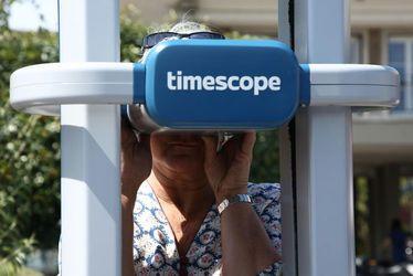 Deux bornes Timescope au Havre