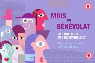 Mois du bénévolat au Havre - du 5 novembre au 5 décembre 2017