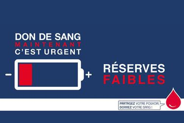 L'établissement français du sang (EFS) lance un appel national d'urgence pour reconstituer les réserves avant les ponts de mai