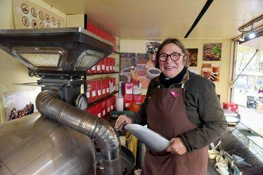 """Véronique Lessard-Leclerc, artisan torréfacteur ambulant : """"Les Havrais ont une vraie culture du café"""""""