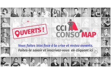 CCI Conso'Map : une cartographie interactive pour recenser les points de vente sur le territoire