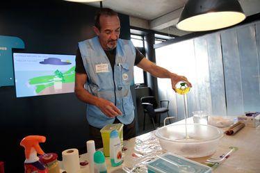 L'écopôle Cycle de l'eau propose des ateliers toute l'année pour découvrir l'importance de l'eau