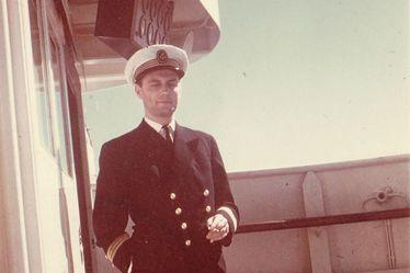 Edmond Bechhoefer, second commandant de 1960 à 1964 sur le paquebot France