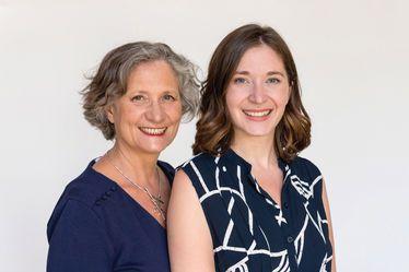 Isabelle Filliozat, psychologue et psychothérapeute, invitée de la 2e édition de la Semaine de la parentalité, avec sa fille Margot Fried-Filliozat, sexothérapeute