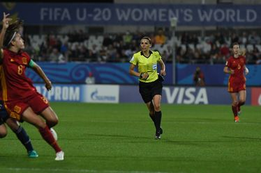 Stéphanie Frappart, arbitre officielle de la Coupe du Monde Féminine de la FIFA, France 2019™