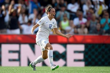 Lucy Bronze, latéral de l'équipe d'Angleterre