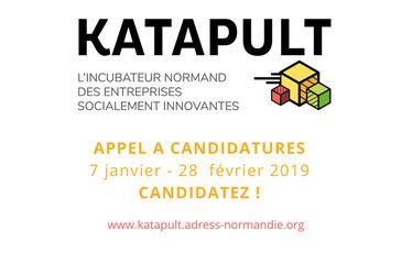 L'incubateur normand KATAPULT lance un appel à candidatures jusqu'au 28 février
