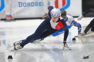 Sébastien Lepape, patineur de vitesse sur piste courte (short track)
