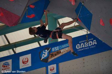 Victor Guillermin, champion de France minimes d'escalade, 18e du Championnat du monde, Prix Pascale-Marquand de la soirée des sportifs 2019