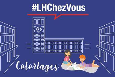La Ville du Havre, le collectif « Are You Graffing » et Mascarade proposent des coloriages pour les vacances