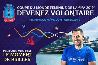Devenez volontaire ! -  Coupe du Monde Féminine de la FIFA™, France 2019