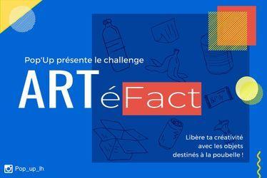 Le projet ARTéfact propose aux jeunes de créer des oeuvres d'art à partir d'objets recyclés
