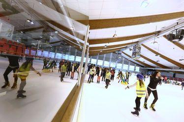 Enquête de satisfaction : patinoire