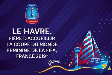Le Havre accueillera la Coupe du Monde Féminine de la FIFA, France 2019TM