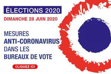 Élections municipales - 2nd tour : les mesures anti-coronavirus prises dans les bureaux de vote
