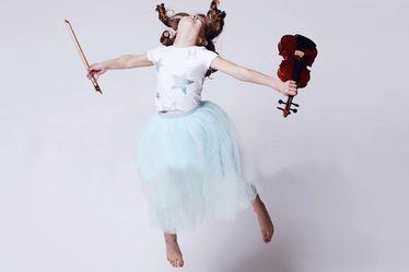 Dans et violon au conservatoire Honegger