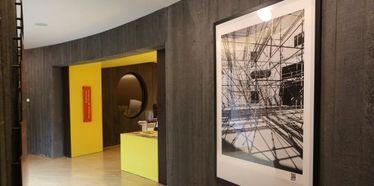 """""""De béton et de lumière"""", une exposition d'olivier Roche à la bibliothèque Niemeyer"""