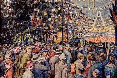 Jean Biette - Illustration de la vie havraise 1914-1918
