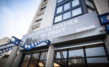 Façade de la Maison de Justice et du Droit