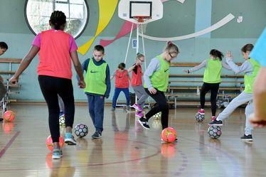 La Ville du Havre a mis en place le dispositif « Foot à l'école » à l'occasion de la Coupe du Monde Féminine de la FIFA, France 2019™