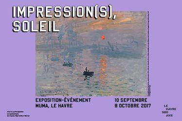 "Exposition ""Impression(s), soleil"" au MuMa"