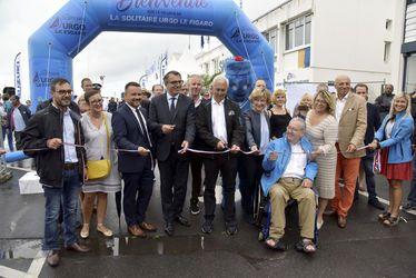Inauguration du village de la course Solitaire URGO Le Figaro 2018 au Havre