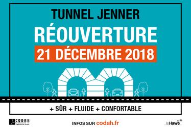 Réouverture du tunnel Jenner
