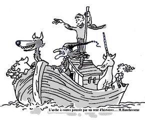 "A bord de ""l'arche à contes"""