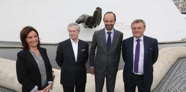 La fontaine Niemeyer inaugurée