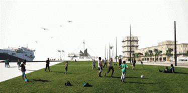 Projet d'aménagement du Grand Quai du Havre