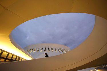 Le Volcan, chef-d'oeuvre d'Oscar Niemeyer