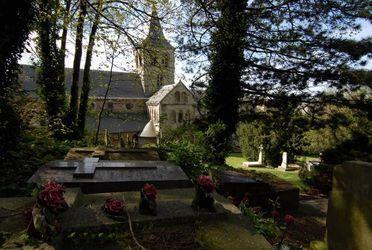 Cimetière de l'abbaye de Graville