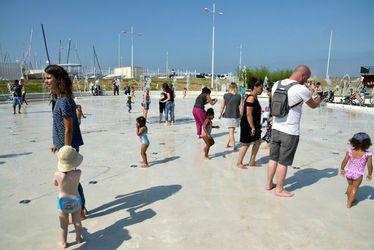 La pataugeoire historique de la plage bientôt remplacée par une aire de jeux d'eau
