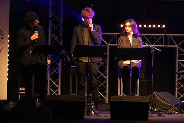 Félix Moati, Niels Schneider et Camélia Jordana ont clôturé la 6e édition du Festival littéraire Le Goût des Autres avec une lecture musicale de Jules et Jim