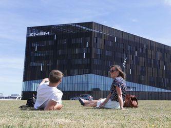 Une ville facile à vivre - L'Ecole Nationale Supérieure Maritime (ENSM) participe grandement à la dynamique de l'enseignement supérieur au Havre