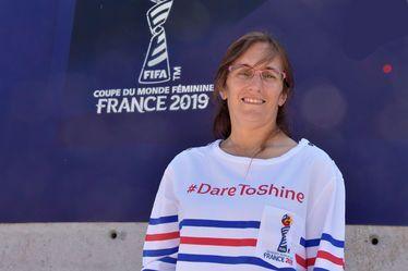 Olivia Detivelle, marraine du Programme Volontaires de la Coupe du Monde Féminine de la FIFA™, France 2019