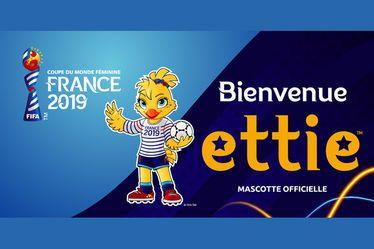 Ettie, mascotte officielle et héritière de Footix ! - Coupe du Monde Féminine de la FIFA™, France 2019