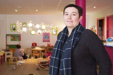 Fabienne Delafosse, fondatrice de trois micro-crèches en centre-ville du Havre en deux ans
