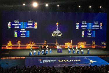 Tirage au sort de la Coupe du Monde Féminine de la FIFA, France 2019™, samedi 8 décembre 2018 à la Seine Musicale de Boulogne-Billancourt
