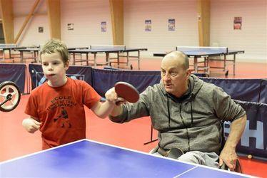 Le champion Michel Peeters fait de son handicap l'atout majeur pour initier les bonnes bases aux jeunes générations