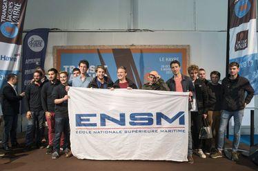 Les deux équipages havrais de l'ENSM montent sur les deux premières marches du podium de la Régate étudiante de la Transat Jacques Vabre