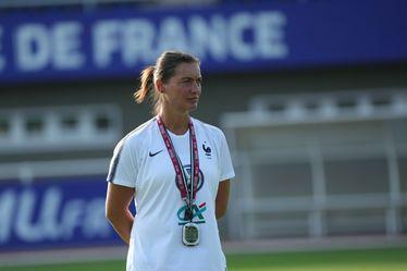 Corinne Diacre, sélectionneure de l'Équipe de France féminine