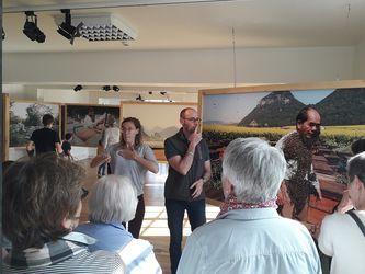 Visite de l'exposition en langue des signes