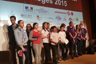 Les Kids from LH vainqueurs du concours Science Factor 2015