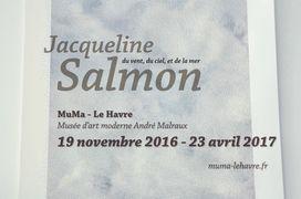 Jacqueline Salmon, du vent, du ciel et de la mer - MuMa Le Havre 2016-2017