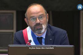 Édouard PHILIPPE, réélu maire du Havre