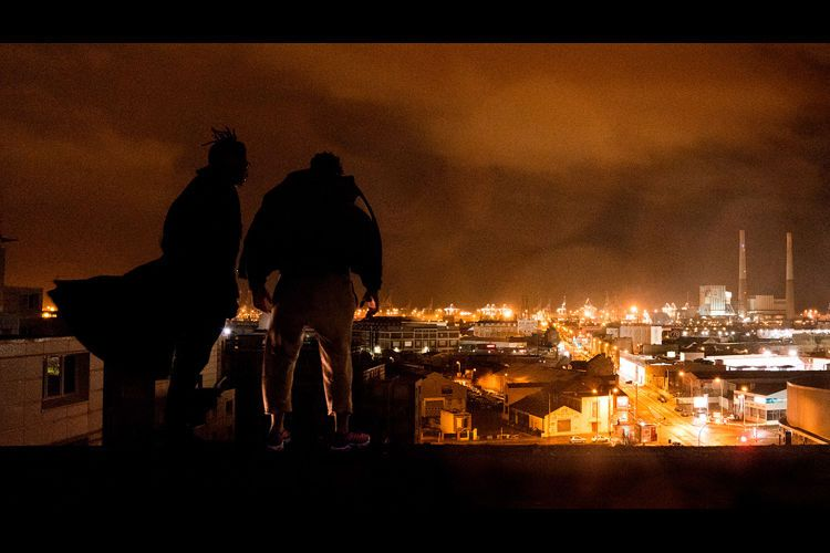 Photo du tournage au Havre de la série Mortel diffusée sur Netflix à partir du jeudi 21 novembre 2019